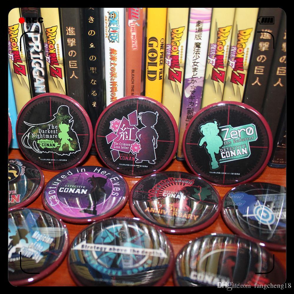 Anime/Detective Conan Conan Edogawa/Jimmy Kudo/Kaitou Kiddo 22 Theatrical  Editions LOGO LOGO suit badge/label pin/Pendant/gift