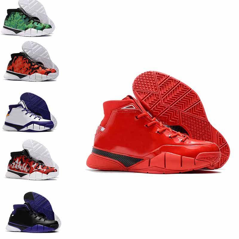 Autumn 2019 Cheap Track Shoes Mens Weaving Kobe 1 Protro ZK1 Sports ... c0cab450e