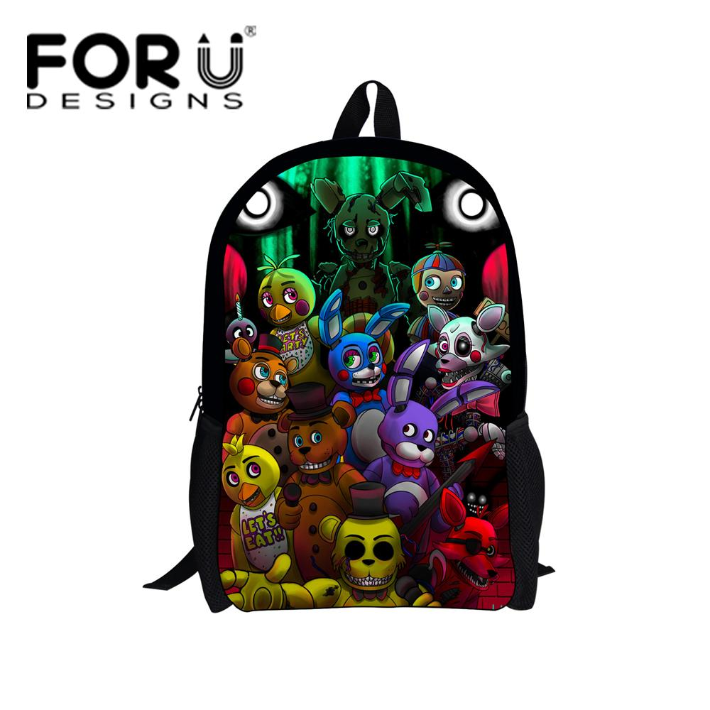 46a020df77 Wholesale Five Nights At Freddys Schoolbag Backpacks Kids Cartoon School Bags  Children Teenagers Girls Boys Schoolbag Book Bag Backpacks School Cheap ...