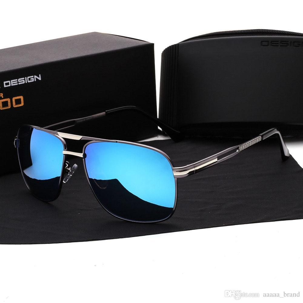 28c9e5914 High Quality Polarized Sunglasses men Brand designer Fashion Summer Sun  Glasses men's Vintage Sunglass Goggles Eyeglasses with Retail box