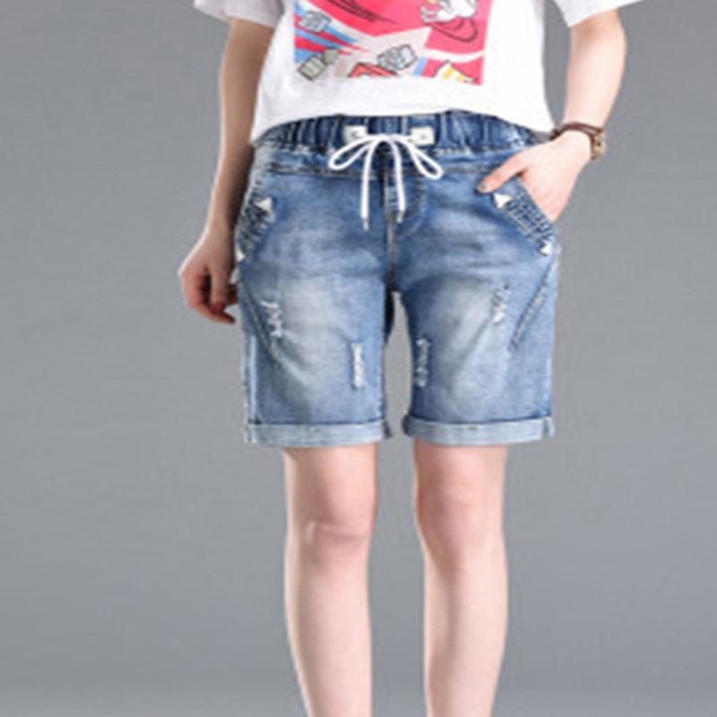 074092ba2a Solid Women Clothing Denim Shorts With Pockets New Arrival Harajuku Summer  Ropa Mujer Slim Short Pants Feminino Casual Jeans Online with $38.16/Piece  on ...