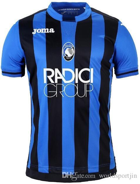 73ecedbf5faeb Nuevo 18 19 Camiseta De Fútbol Atalanta BC Atalanta VALZANIA FREULER GOMEZ  DUVAN ILICIC 2018 2019 Camisetas De Fútbol De Local Por Worldsportjin