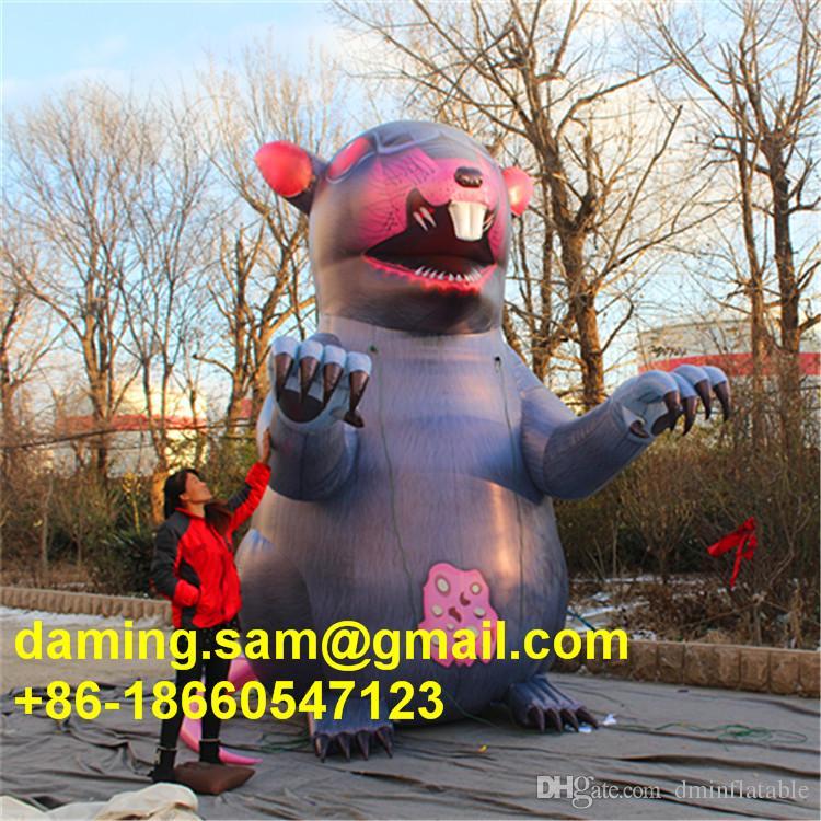 Prix usine 4m haut grand géant personnalisé événement gonflable décoration publicité souris géante gonflable