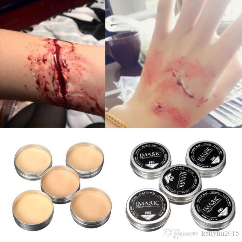 IMAGIC Halloween Makeup Special Effects Scar Wax Body Art Paint Professional Cosmetics Make Up Modeling Fake Skin Wax