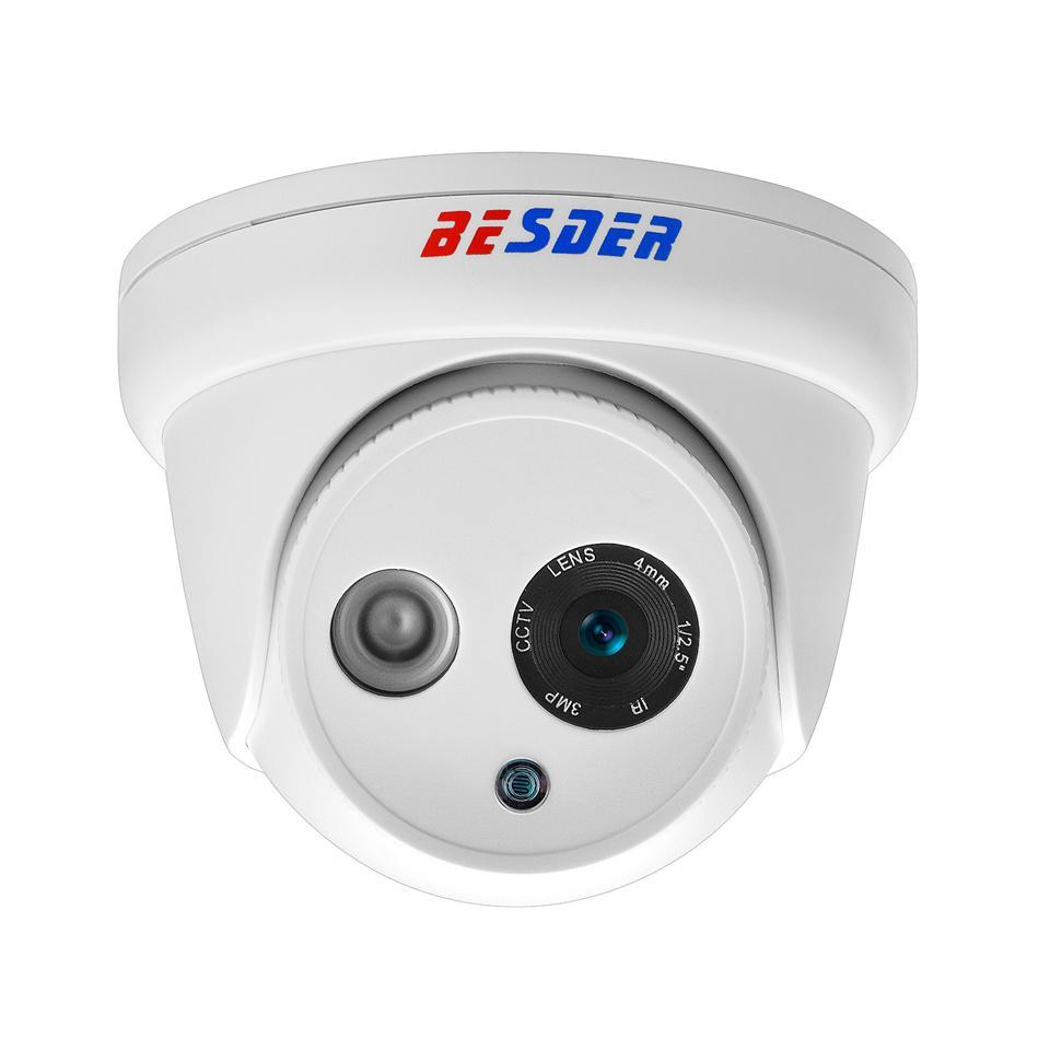 Besder Hd 720p 960p 1080p Ip Camera Dc12v Poe48v Onvif P2p Email ...