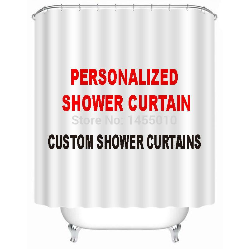 2018 Fabric Polyester Custom Shower Curtain Personalized Curtains Waterproof Bathroom OEM From Pont 3547