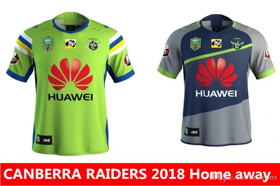 88c8556c1 Best Quality Nrl Jersey New CANBERRA RAIDER S 2018 2019 Home Away ...