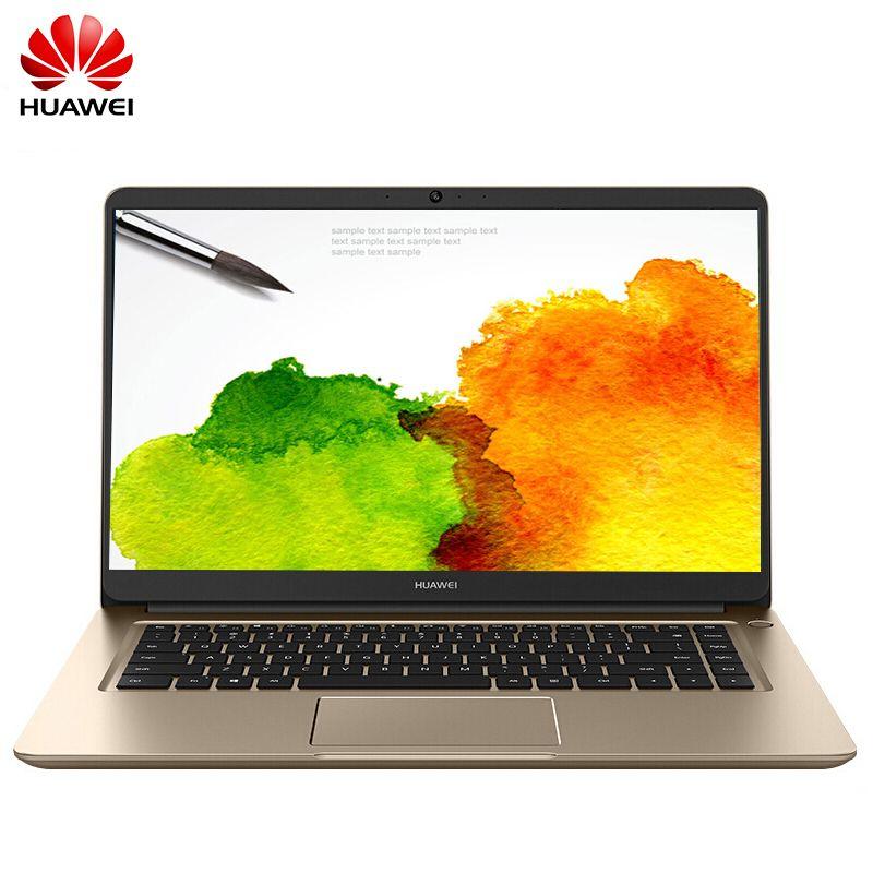 2017 Original Huawei MateBook D 15 6 inch IPS Notebook Windows 10 Intel  Core i5-7200U 4GB DDR4 500GB SATA HDD Computer PC PL-W19