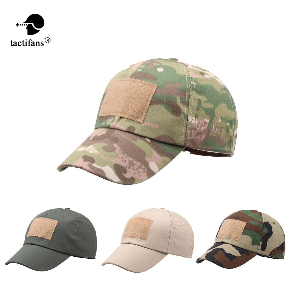 52f4be935 Tactifans 2018 Outdoor Sport Snapback Caps Camouflage Hat Simplicity  Tactical Tactical Hat Army Hunting Cap Men Adult Cap
