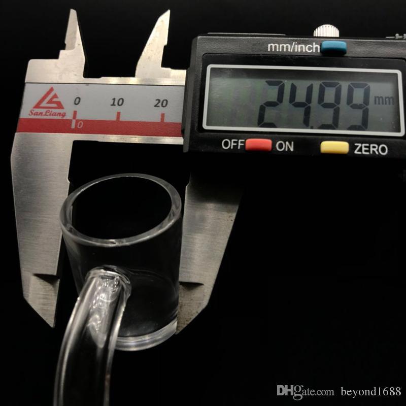 DHL Shipping!!! Beracky 4mm Thick Bottom Quartz Banger Quartz Nails 10mm 14mm 18mm Male Female XL Quartz Bangers Nail For Glass Bongs Rigs