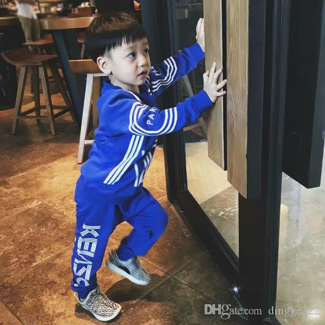 39da14f20 Brand Tracksuits Baby Boys And Girls Suit 2 Kids Clothing Set Hot ...