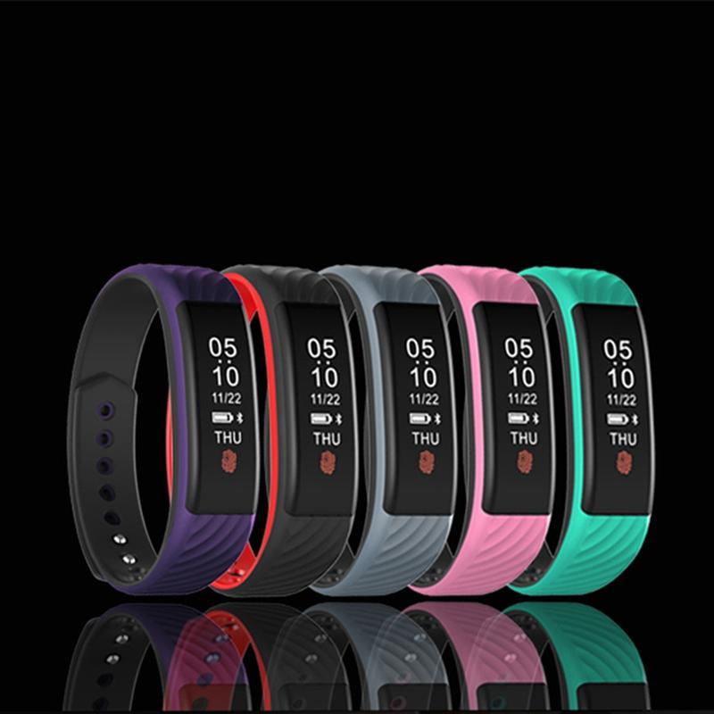 bee6eb0f2218 Compre Smart Watch Pulsera Pulsómetro De Frecuencia Cardíaca Bluetooth  Podómetro Impermeable Deporte Relojes De Las Mujeres Para Android Ios  Teléfono ...