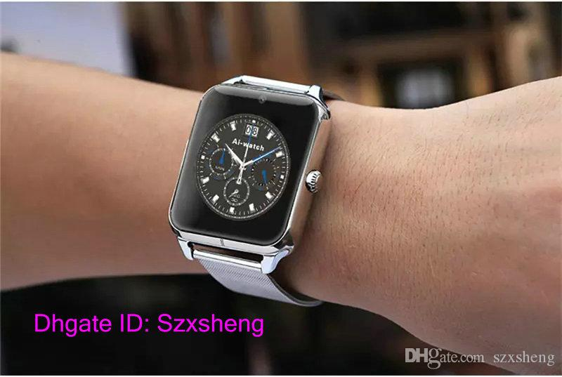 Start Bluetooth Smart Watch Z50 2G Internet NFC Support SIM TF Card Wearable Devices SmartWatch For Apple Android Phone T30
