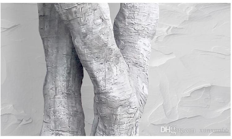 Formato personalizzato Photo Background Wall Paper Big Tree Roots Tronco Cross Art Rivestimento murale Camera da letto Murale Carta da parati moderna Home Decor