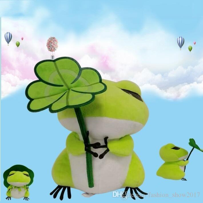 Cute Travel Frog Japan Game Action Figure Doll Frogs Stuffed Plush Toy for Children Birthday Gift Toy