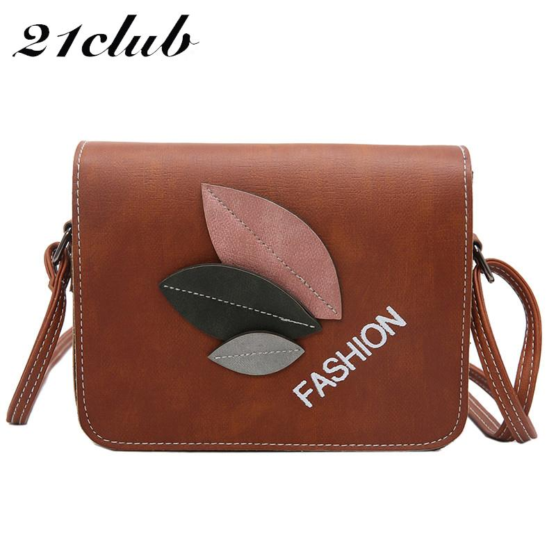 231c8e277 21club Brand Small Shopping Casual Leaf Decoration Summer Style ...