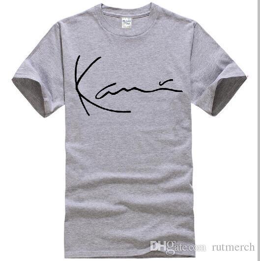32194d957b717 KARL KANI DUMONT T SHIRT HEATHER GREY GRAPHIC BASIC TEE MENS 90s FASHION  NWT Mens Shirt Printed Shirts From Rutmerch