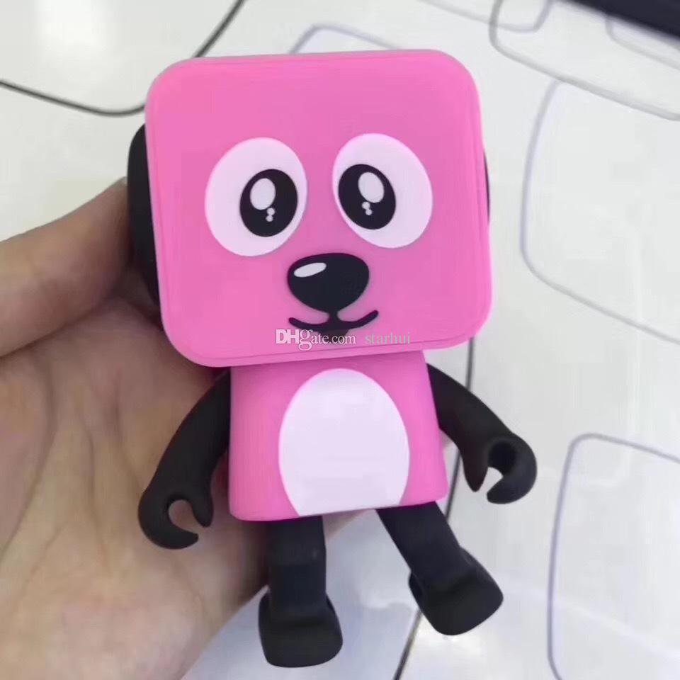 Favore di partito Mini Altoparlante Bluetooth senza fili Ballando Robot Cane Altoparlanti stereo bassi Passeggini elettronici Regali bambini Altoparlante WX9-195
