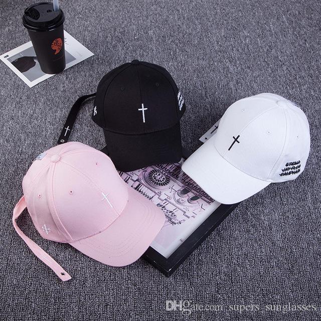 2018 GD Bingbang Cross Women Men Caps Hip Hop Justin Bieber Hats Streetwear  Iron Ring Snapback Kanye West Bone Baseball Cap Hat Baseball Cap Hats For  Women ... 187661dd75aa