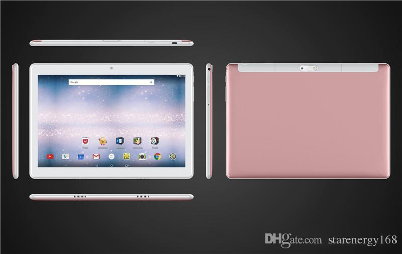 168 de alta qualidade de 10 polegadas MTK6580 2.5D vidros IPS tela de toque capacitivo dual sim 3G GPS tablet pc 10