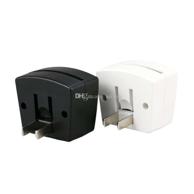 Mini rgb led base de lâmpada embutida sensor de luz nos plugue de parede eua soquete 7 luzes rgb para placa de acrílico