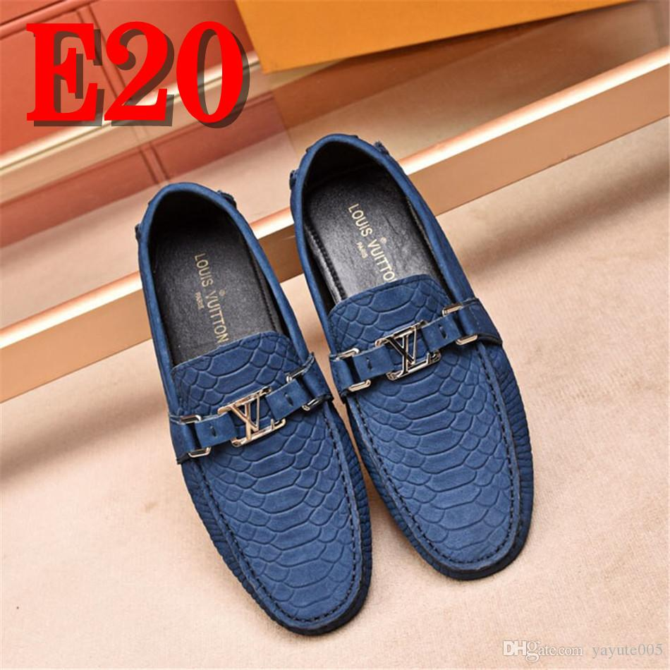 c09e8b72247 Designer Italian Genuine Leather Shoes Men Luxury Brand Loafers Male  Driving Leisure Footwear Casual Leather Shoes For Men Nude Shoes Womens  Sandals From ...