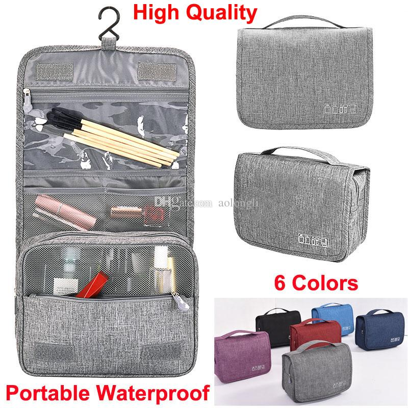 0337ea8efb8e Makeup bags Hanging Travel Toiletry Bag Bathroom Storage Organizer Bags  with Hanging Hook wash Accessories for Cosmetics Toiletries Pouch