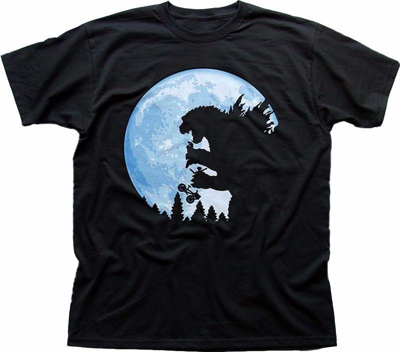 ... ET Extraterrestrial Movie TOKYO T Shirt Nera Divertente Bambini FN9335 T  Shirt Nera Hip Hop A Manica Corta Top Tee A  13.08 Dal Yusheng666  d071bac4be6f