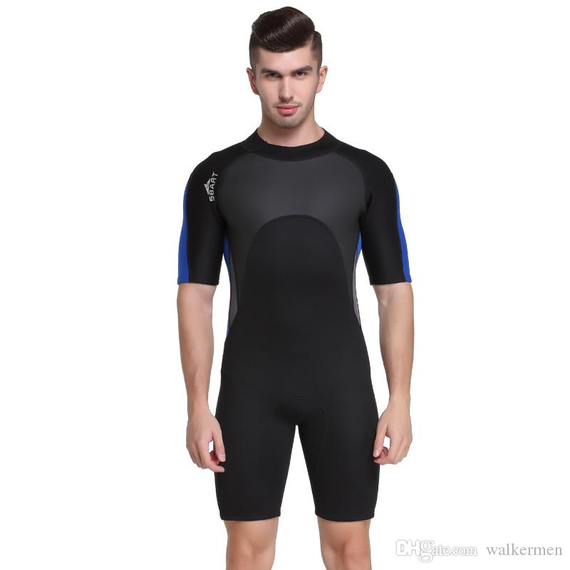 4b10c34993 2mm Neoprene Surf Wetsuit Men Swimming Scuba Diving Snorkeling ...