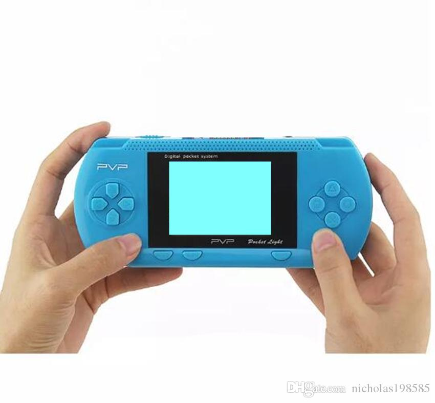 PVP 8 Bit Station Light 3000 8 Bit 2.7 LCD Screen Handheld TV Game Player Console Mini Portable Game Box Also Sale PXP3 16 Bit PAP