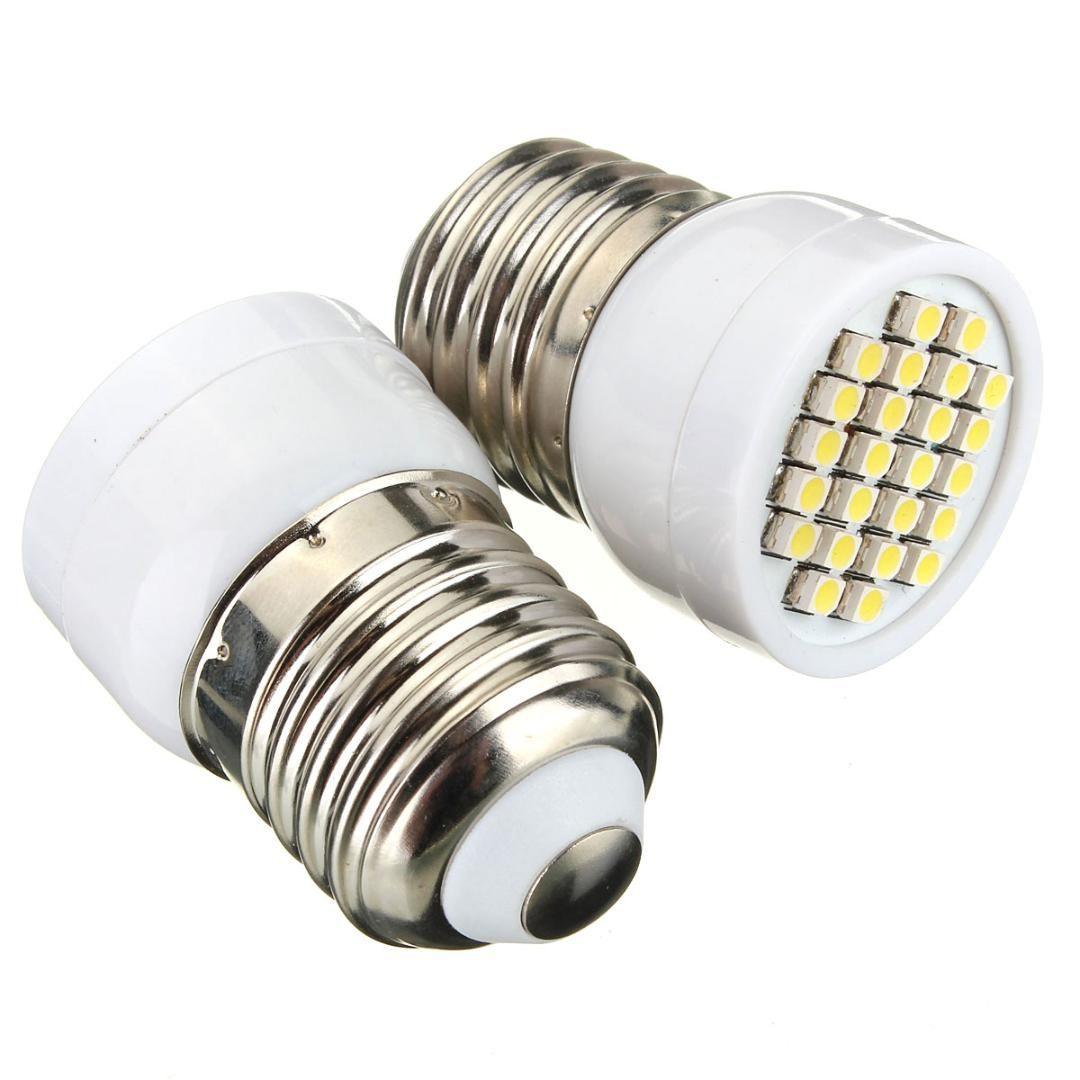Maïs 1 24 Led Spotlight Ampoule 3528 V De 265 Chaud Smd 85 Maison 5 W Tache Lampe E27 Blanc 354jARLq