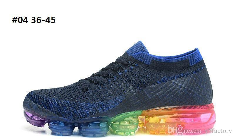 14 renkler Epacket Hava yastığı ayakkabı bağı çalışan sneakers erkekler için 2018 koşu ayakkabıları süper anlaşma sönümleme spor ayakkabı adam yetişkinler EUR 36-45