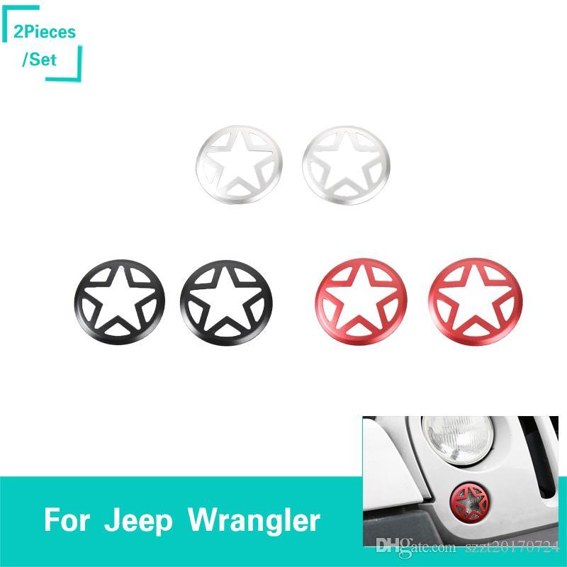 Großhandel Frontnebelscheinwerfer Abdeckung Für Jeep Wrangler