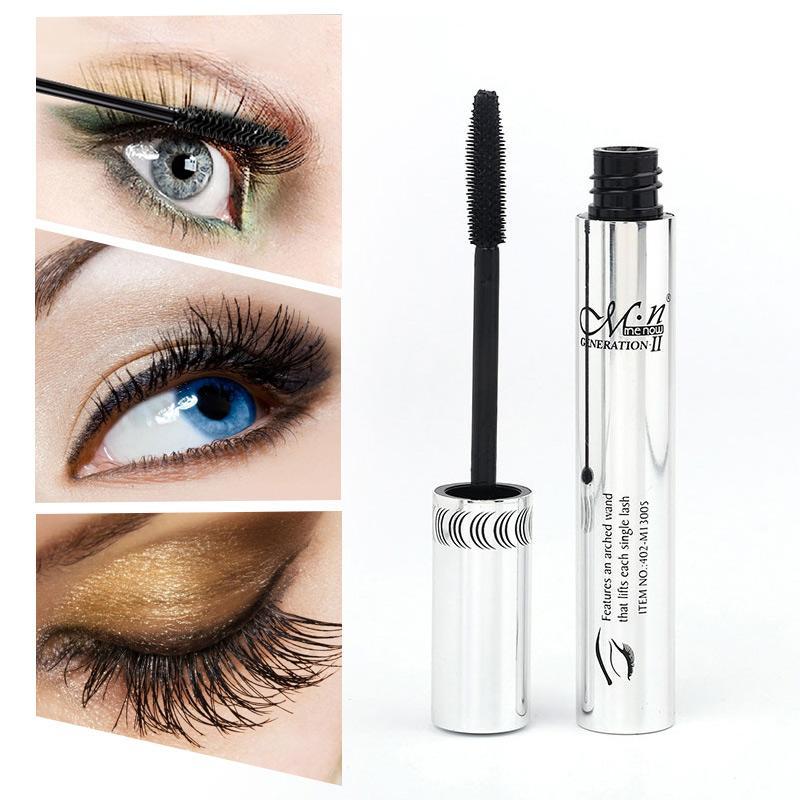 Mascara Waterproof Thick Curling Long Eyelash Eyes Makeup Brush