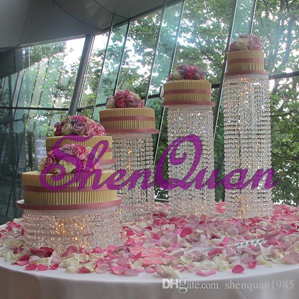 Высокое качество Новый Дизайн Роскошный старинный Старинное Стекло с Кристаллическим украшением Рамка свадебная тарелка с фруктами торт стенд