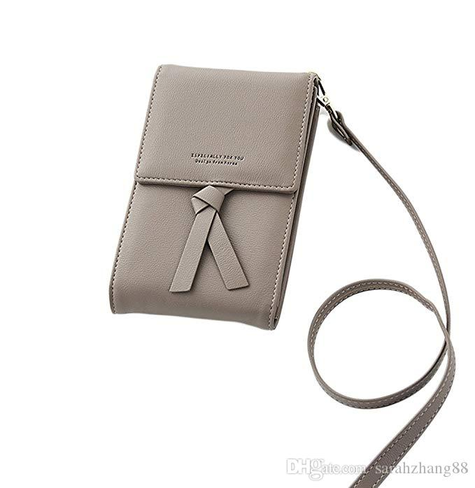 b20762b4287 Women Small Crossbody Bag Cell Phone Purse Pouch Card Holder Wallet Bags  With Credit Card Slots Multi Pocket iPhone Smartphone Great Gift
