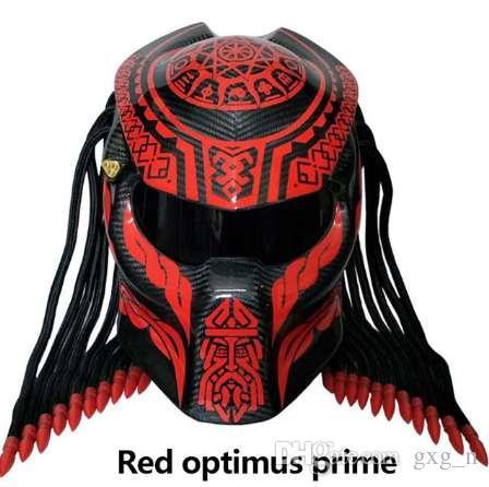 New Predator Carbon Fiber Motorcycle Helmet Full Face Motorbike