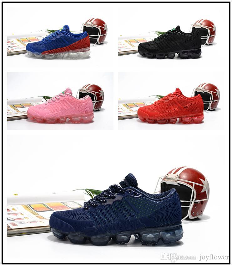 sports shoes e2bc4 e96b7 Acheter 2018 Nouveau Bébé Enfant Air Knitting VM Portable Enfants Chaussures  De Course Enfants Coussin Flair Chaussures De Sport Garçons Filles De  Formation ...