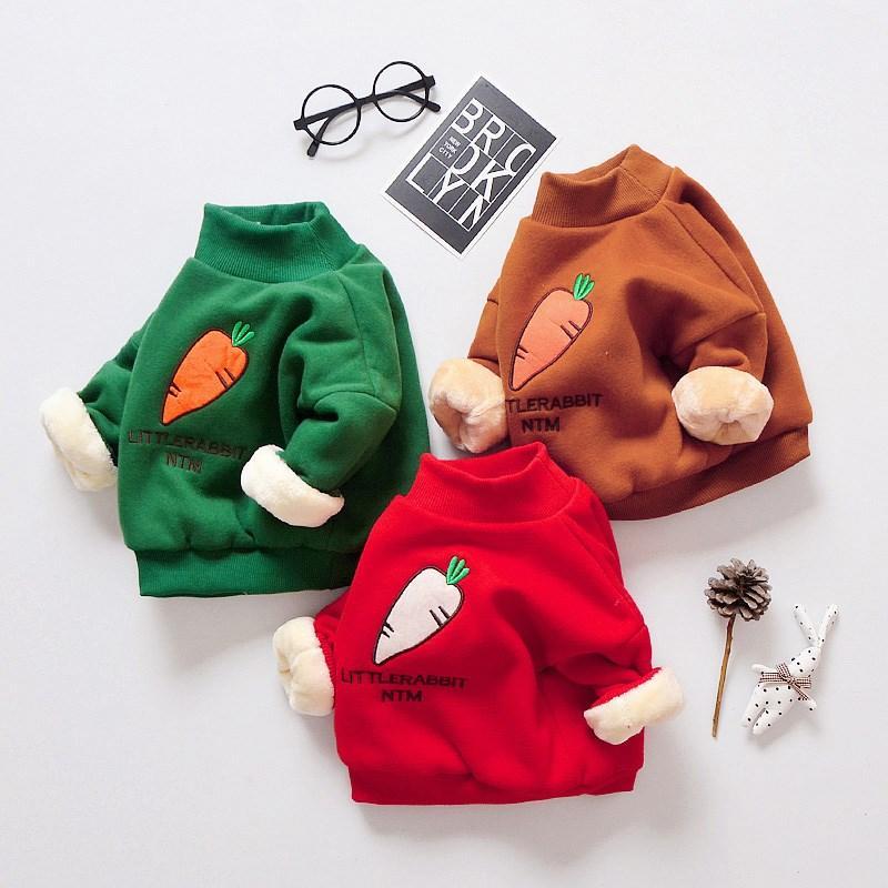 ac16abedf828 Girls Cartoon Sweater Children Casual Sweater Girls Kids Thicken ...