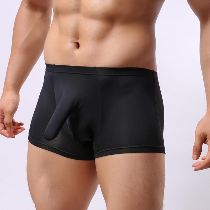 cdcab1035 Compre Sexy Gay Baixo Crescimento Elephant Penis Troncos Boxers Eróticos  Boxershorts Scrotum Cueca Boxer Shorts Mens Pouch Underwear Para Homens De  Sincha