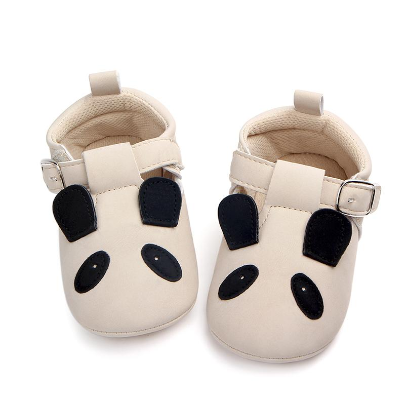 aac2d4fdde658 0-18M Animal Cartoon Baby Girl Toddler Soft PU Leather Princess Mary Jane  Shoes Bandage Infant Prewalker New Born Baby Shoes