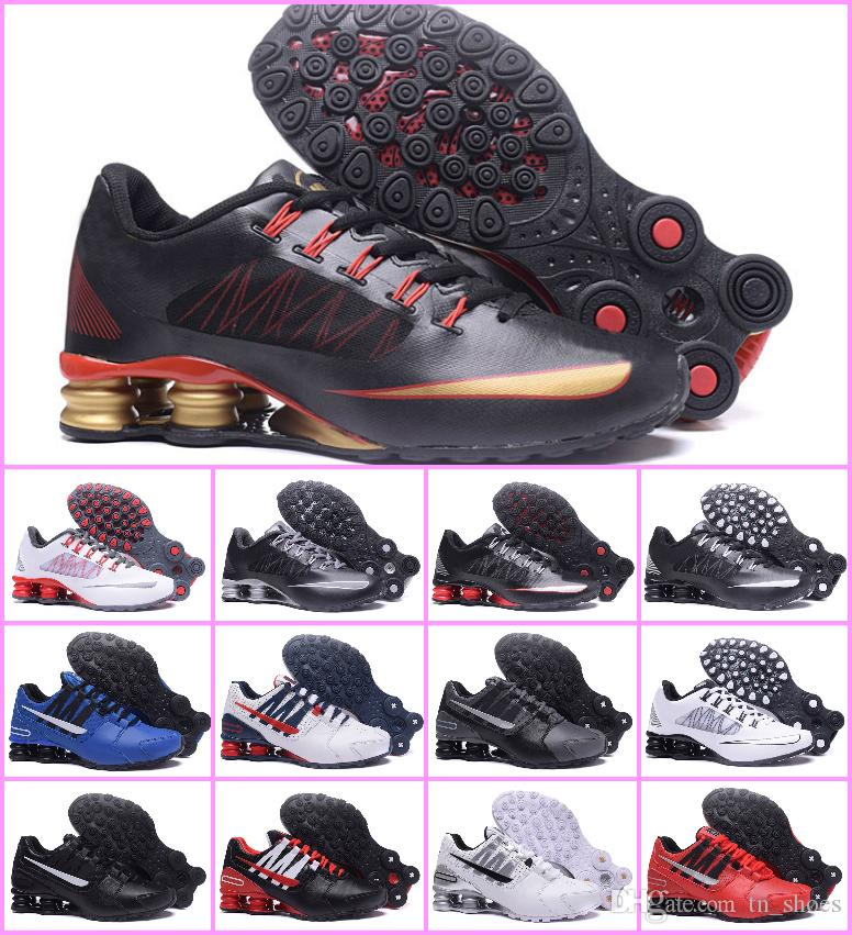 10071632b37 Slaes 2018 Original Shox Deliver Avenue 803 808 Running Shoes Top ...