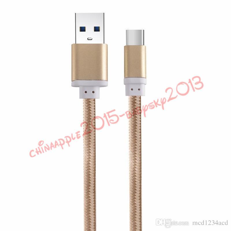 Micro usb кабель 1.5M 5ft Алюминий Металл Нейлон Плетеный Кабели для передачи данных Зарядное устройство Зарядный кабель для samsung s6 s7 s8 plus htc lg