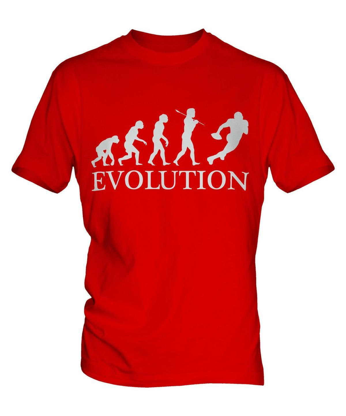 ee06373f AMERICAN FOOTBALL EVOLUTION OF MAN MENS T SHIRT TEE TOP GIFT T Shirts With  Awesome Cheap T Shirts From Linnan02, $14.67| DHgate.Com