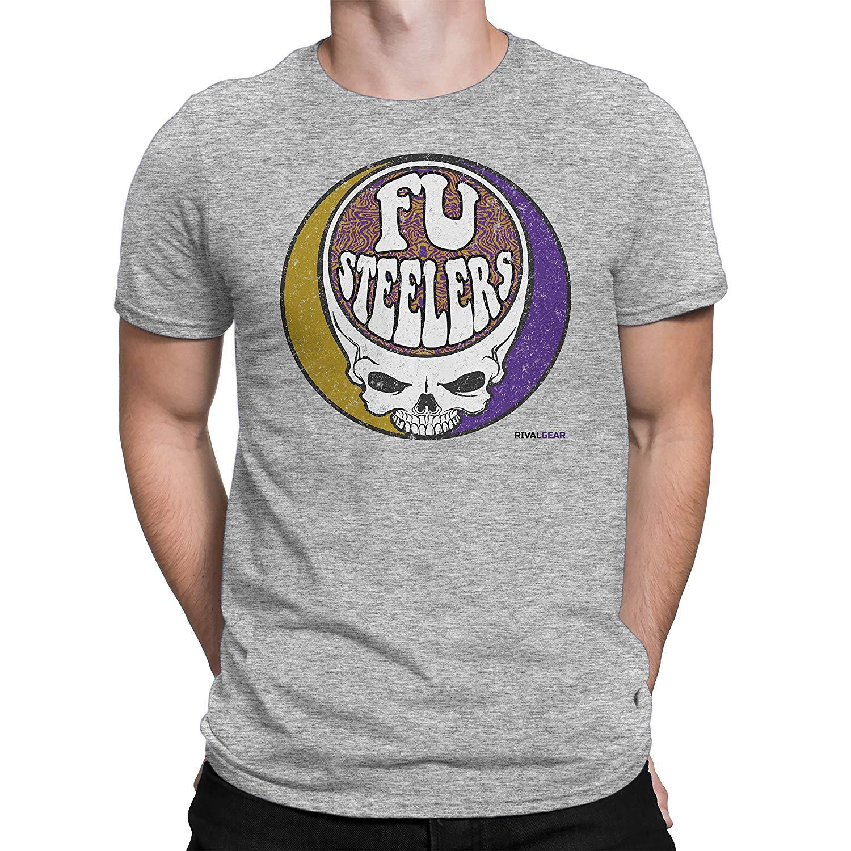ca98cffa Rival Gear Football Fan T Shirt, Fu Steelers Mens 2018 Fashionable  100%cotton Tops Wholesale Tee T Shirt Slogans Dirty T Shirts From  Funnytshirt, ...