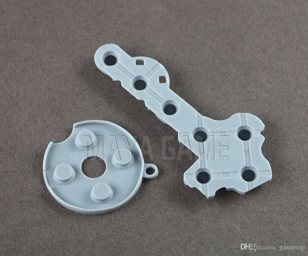 Контроллер проводящая резиновая контактная колодка кнопка D-Pad Для Microsoft для Xbox 360 беспроводной контроллер замена запчастей серый цвет