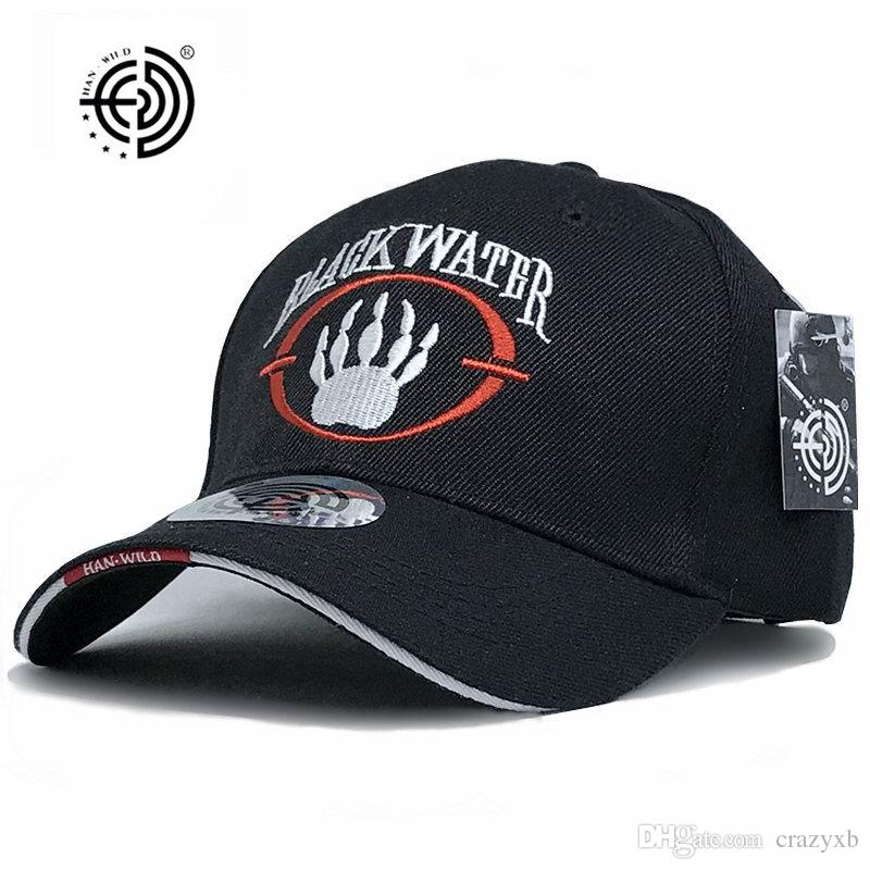 New Arrivals Blackwater Tactical Cap Mens Baseball Cap Brand Snapback Hat  US Army Cap Navy Seal Black Water Cheap Hats Richardson Caps From Crazyxb 522e427ca619