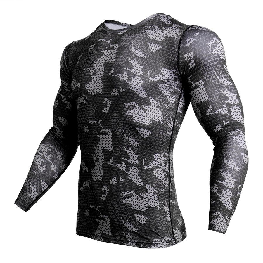 73ffb179d671e8 Compression Shirt Men Camouflage Long Sleeve Tight Tee Shirt Men Fitness 3D  Quick Dry Clothes MMA Rashguard Gyms Camo T Shirt Graphic T Shirts Custom  Shirt ...