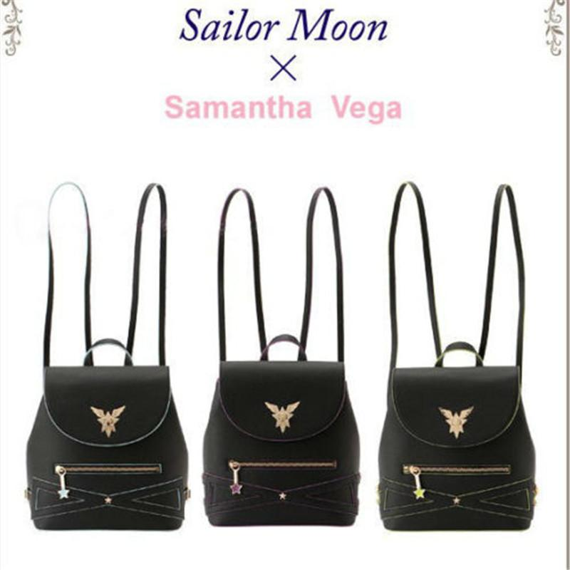 ead67899cc2a 2019 Backpack SAMANTHA Vega 25th Anniversary Luna Travel Sailor Moon  Backpack Starlight Shoulder Bag New From Benedica