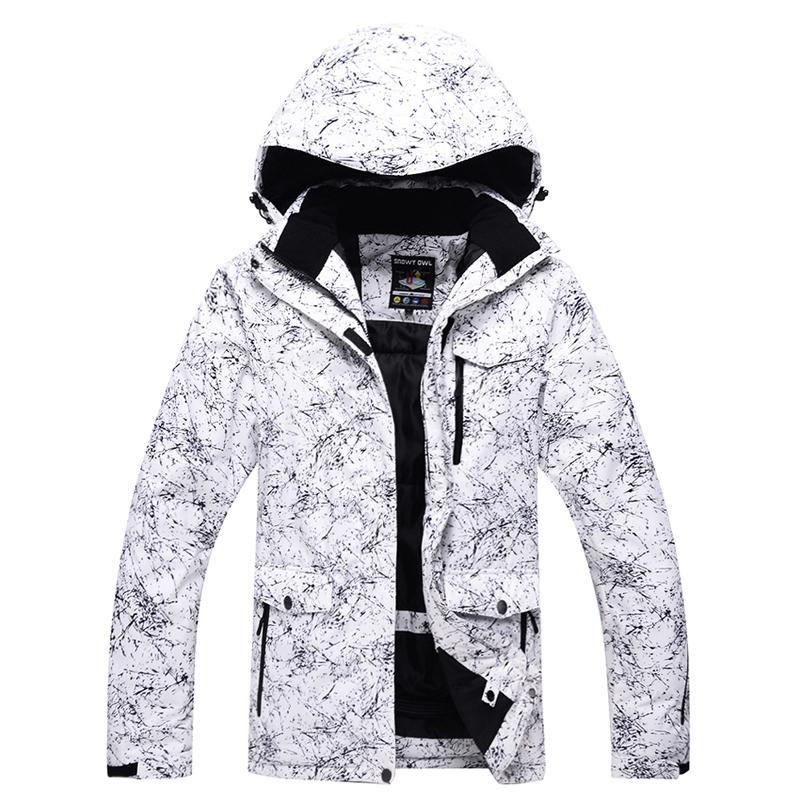 c47698475 Ski Jacket Men Women Winter Waterproof Thick -30 Warm Costume Snowboard  Running Outdoor Sports Hiking Jackets Male Female